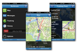 earthmate inreach se screenshots